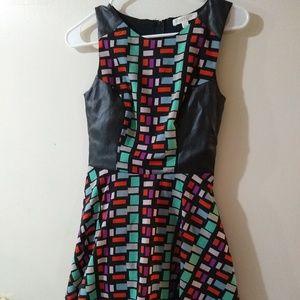 Womens XS Love Fire Mini Dress
